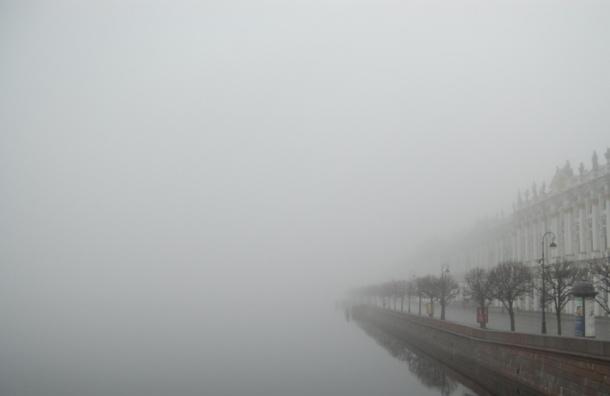 Туман накроет Петербург
