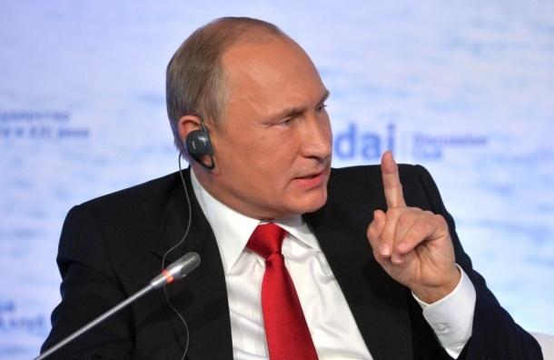 Путин обещает прорвать любую блокаду России