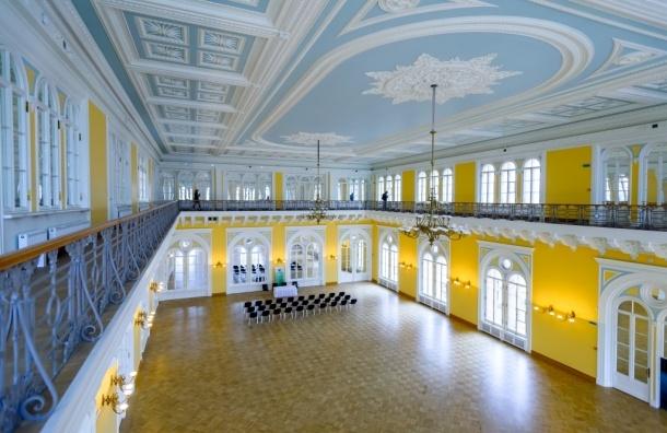 Сбербанк передает Александровский зал бывшей Городской думы Санкт-Петербургу