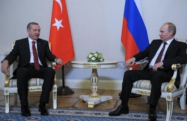 Эрдоган написал Путину теплое письмо