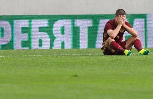 Россия проиграла в товарищеском матче сборной Чехии