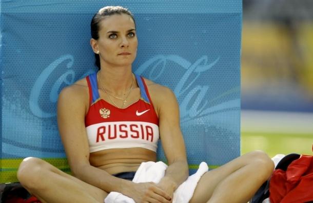 Елена Исинбаева отказалась от выступления на ОИ-2016 под олимпийским флагом
