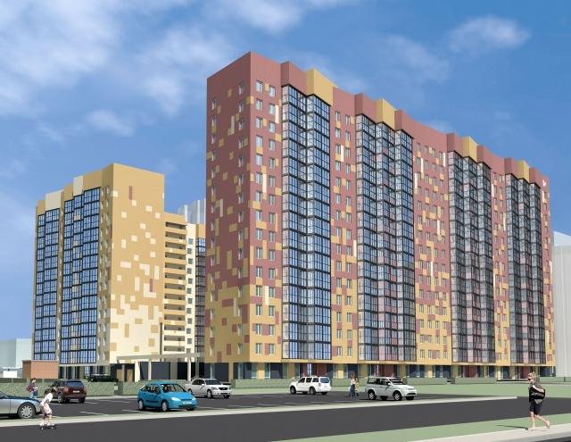 Жилой комплекс ГК «КВС» на проспекте Маршала Блюхера  : Фото