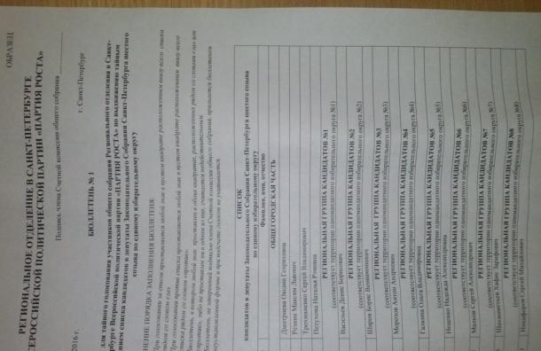 Дмитриева: сбор подписей за список «партии Роста» завершится в середине июля