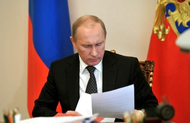 Путин согласился продлить контрсанкции до 2018 года