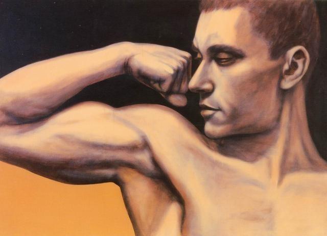 _ Г. К. Гурьянов. Автопортрет 1993.