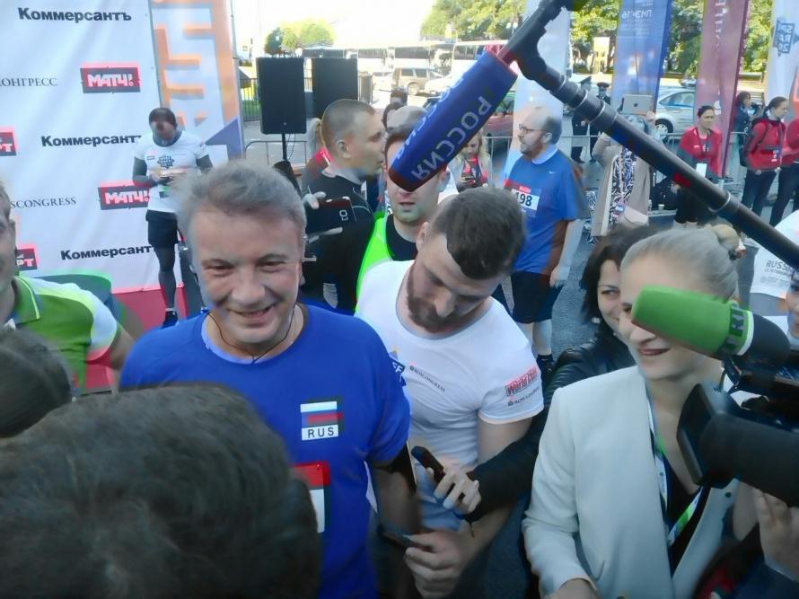 Захарова поведала, что помогло ей пересилить забег «Spief Race» вПетербурге