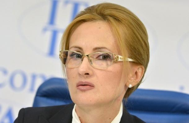 Депутат Госдумы Ирина Яровая приехала на ПЭМФ