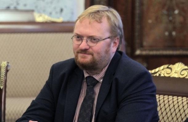 Милонов пообещал съесть коллекторов