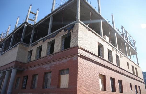 СКР: При строительстве школы искусств вПетербурге украли 18 млн руб.
