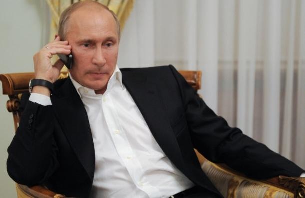 Путин начал телефонный разговор с Эрдоганом