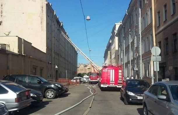 Серьезный пожар произошел на Чапаева