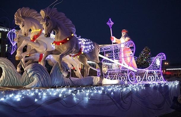 Ханты-Мансийск выбрали новогодней столицей России
