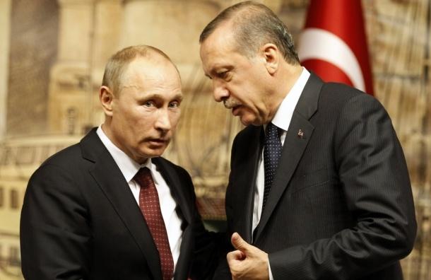 Путин и Эрдоган договорились о личной встрече