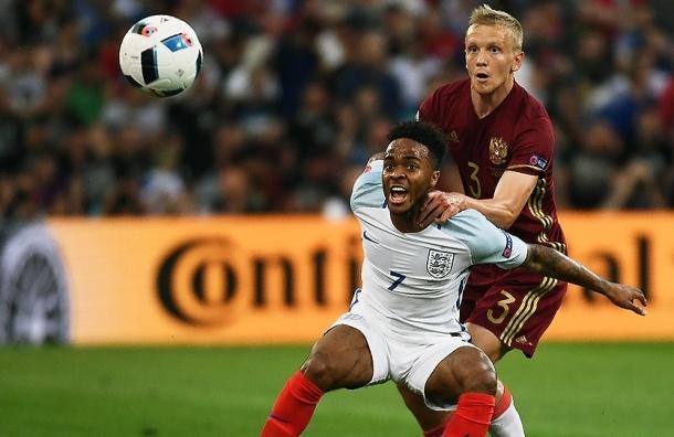 Россия и Англия сыграли вничью на ЧЕ по футболу