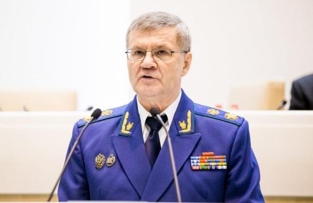 Юрия Чайку переназначили на пост генпрокурора сроком на пять лет