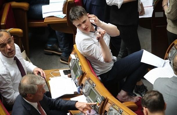Савченко будет работать над собой, чтобы вести себя культурно