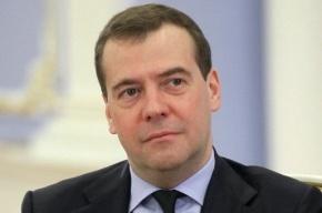 Медведев будет единственнным в списке «Единой России»