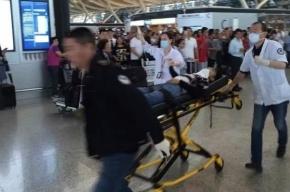 Взрыв прогремел в международном аэропорту Шанхая