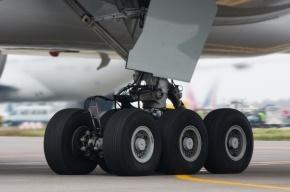 Два колеса лопнули у самолета при посадке в Шереметьево