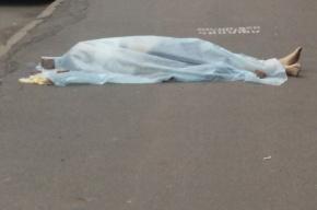 Женщина выпала из окна дома на Мясной