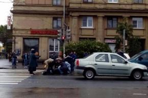 Мужчину сбили у станции метро «Пролетарская»