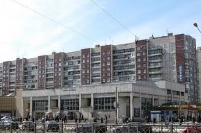 Вход на станцию метро «Проспект Просвещения» ограничат до августа