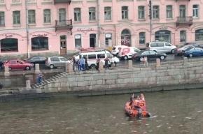 Очевидцы: Мужчина утонул в Фонтанке во время грозы
