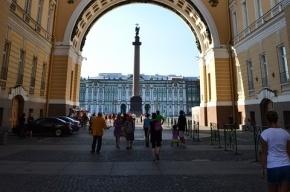 Танки, защищавшие Ленинград, появятся сегодня на Дворцовой площади