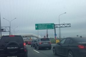 Движение по туннелю под дамбой в Петербурге временно ограничили