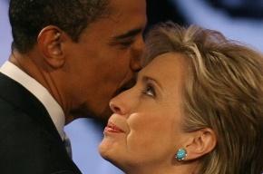Обама официально поддержал Клинтон на выборах в президенты США
