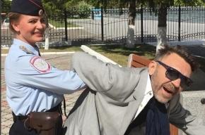 Шнурова оштрафовали после курения на концерте в Красноярске