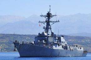 Эсминец США опасно сблизился с «Ярославом Мудрым» в Средиземном море