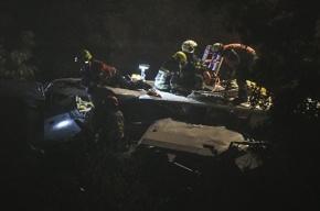 Пассажирский поезд врезался в товарный состав в Бельгии, десятки людей ранены