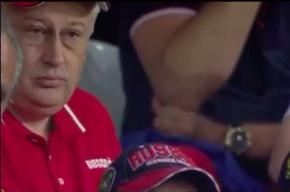 Фото человека похожего на губернатора Ленобласти на матче во Франции появились в Сети
