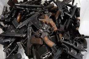 Склад боеприпасов нашла полиция в Петербурге