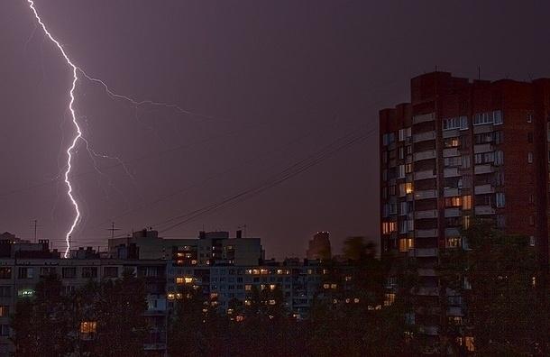 Петербург ждут 8 июня ливни и грозы