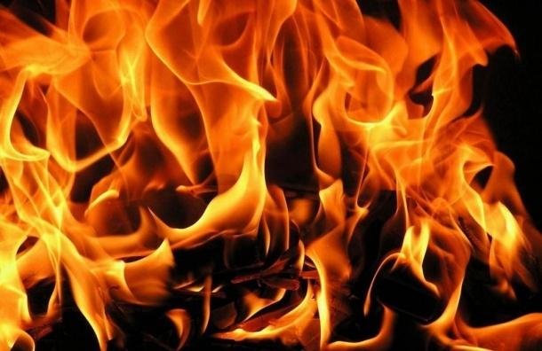 Дом горел утром на 18-й линии