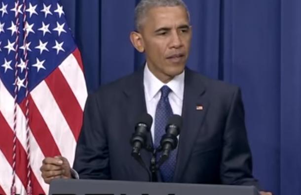 Обама начал шутить во время речи об атаке в Мюнхене