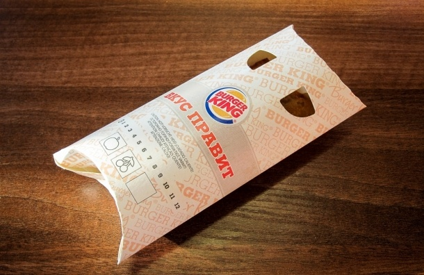 Петербуржец дошел до ФАС с бесплатным пирожком от Burger King