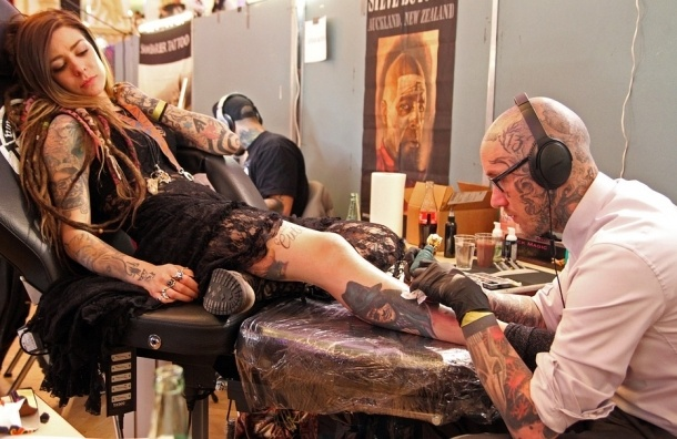 Ученые: татуировки вызывают рак кожи