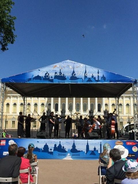 _Скрипка на Невском_