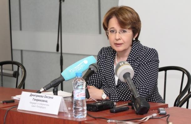 Партия роста возмущена возникновением двойника Дмитриевой вПетербурге