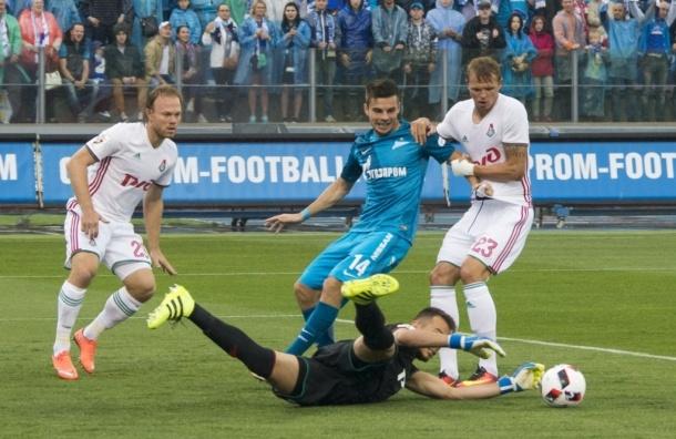 «Зенит» и «Локомотив» сыграли вничью в первом туре чемпионата России