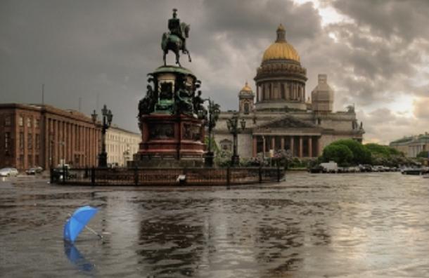 Ветер не оставит Петербурге в покое и сегодня