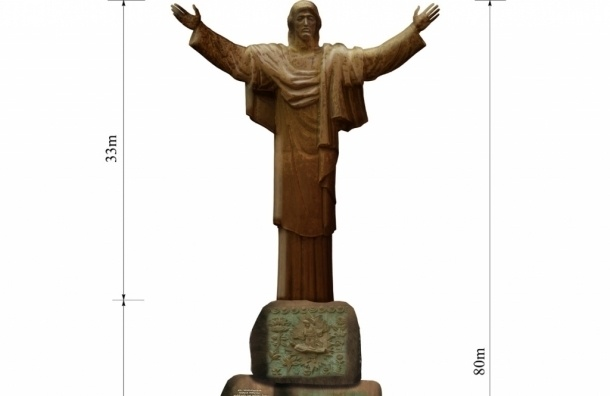 Епархия о статуе Христа: в православии нет традиции гигантомании