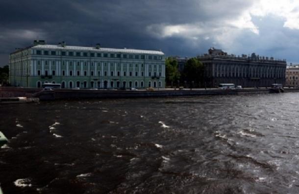 МЧС предупреждает о грозе и сильном ветре в Петербурге