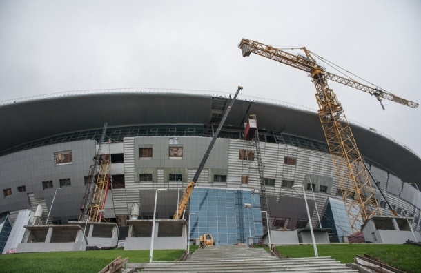Депутаты ЗакСа нашли протечки крыши на «Зенит-Арене»