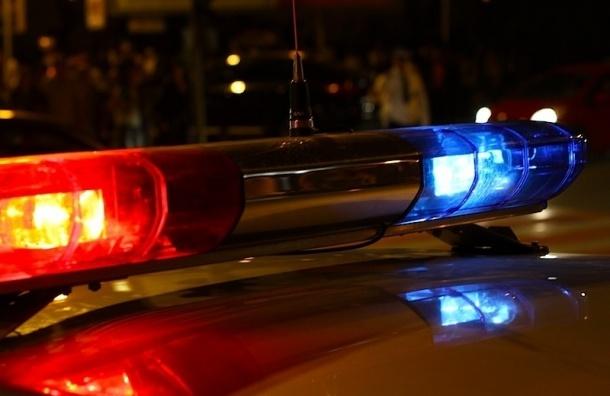 Пьяного водителя задержали в Петергофе со стрельбой
