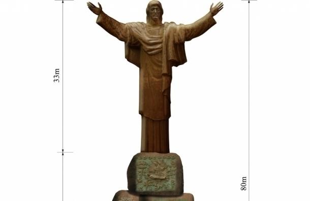 Статую Христа работы Церетели предложили установить в Новосибирске